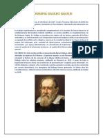 Biografia Galileo Galelei Jueves
