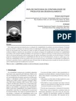 Análise bayesiana da confiabilidade de produtos em desenvolvimento