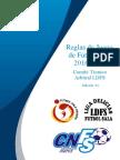 Reglas de Juego Futsal 2016-17
