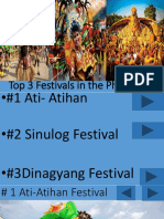 top 3 festivals in the philippines
