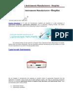 Laparoscopic Instruments Manufacturers