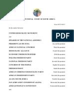ConCourt secret ballot judgment