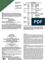 notice sheet 25th june 2017