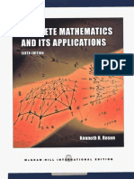 Discrete Mathematics and Its Application - 6th Edition