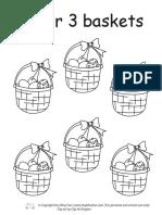 Easter Preschool Math Worksheets 0315