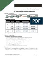 Práctica de Laboratorio 1.5.3. Desafío de Configuración Del Router