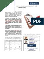 Actuarial Audit Check List