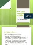 Pak-China Economic Corridor (PCEC)