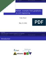 Python versus Matlab