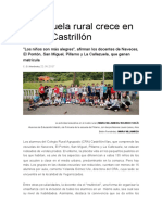 La escuela rural crece en Illas y Castrillón, Asturias