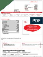 Airtel Bill( 2-3-2015 to 1-4-2015)