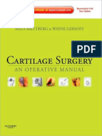 Cartilage Surgery - An Operative Manual 1st Edition