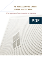 Facing the Foreclosure Crisis in Greater Cleveland