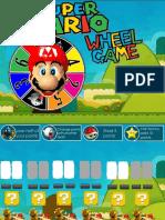 Mario Wheel Reading game PPT