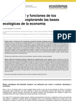 Capital Natural y Economia Ambiental