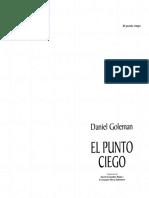 Daniel Goleman-El Punto Ciego Psicologia Del Autoengaño