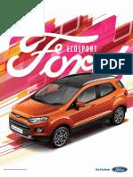 Ecosport Brochure
