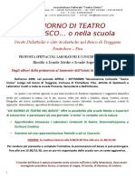 Un Giorno Di Teatro Nel Bosco... o Nella Scuola 2016-2017