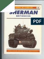 Osprey - Carros de Combate 08 - Sherman Britanicos