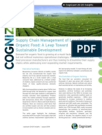 Supply Chain Management of Locally Grown Organic Food a Leap Toward Sustainable Development Codex928