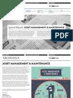 Asset Management Maintenance Media Kit