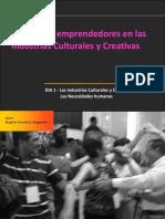 Curso para emprendedores de las industrias culturales y creativas