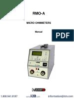 Micro Ohmetro Mersen Manual