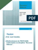 Sequencia de Slides (01 e 02) Rec Hídricos