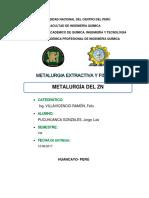 Metalurgía Del Zn