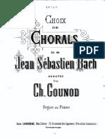 Corais de Bach por Gounod
