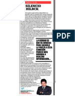 Editorial diario Correo