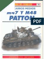 Osprey - Carros de Combate 16 -Los Carros Medios M47 y M48 PATTON