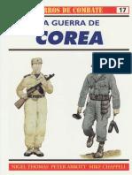 Osprey - Carros de Combate 17 - La Guerra De Corea