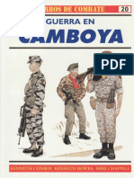Osprey - Carros de Combate 20 - Guerra En CAMBOYA