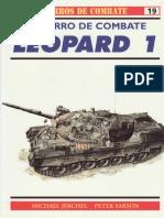 Osprey - Carros de Combate 19 - El Carro De Combate LEOPARD 1