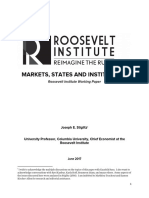 Markets, States and Institutions