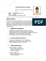 Curriculum Vitae Eli 2