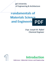 Lecture 1 - Materials Science