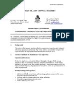 Emergency System Maintenance LSA