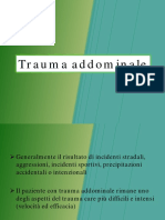 Trauma Addominale