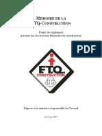 Projet de règlement sur le bénévolat - Mémoire de la FTQ-Construction