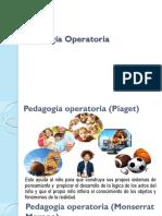 Pedagogía operatoria