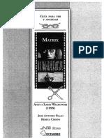 Crespo Rebeca Y Palao Jose Antonio - Guia Para Ver Y Analizar Matrix.pdf