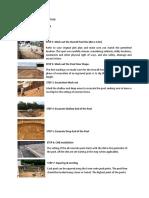 Swimming Pool Construction Methodology