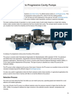A Beginners Guide to Progressive Cavity Pumps