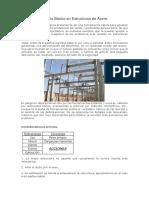Cálculo Básico en Estructuras de Acero