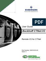 Bekhoff CTNet I_O User Guide - Issue 3