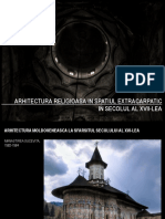 09. Arhitectura Religioasa Extracarpatica in Sec. 17