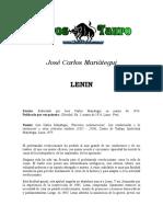 Mariategui, Jose Carlos - Lenin