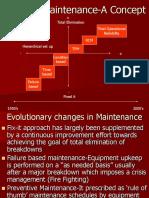HEMM Maintenance- Concept